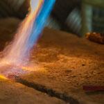 Bild: Handgemachte Manschettenknöpfe in der Herstellung