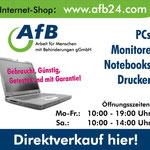 AfB - gemeinnütziges IT Systemhaus :: Zeitungsanzeige