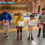 Katell, Manon, Manec et Alex