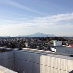 2012.02.09 当院屋上からの霧島連山です。