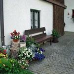 Ferienwohnung Meindlhof: Ruhebank