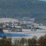 Ferienwohnung Meindlhof: Ausblick im Winter
