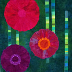 Full Bloom I ca. 100 x 100 cm                                 verkauft