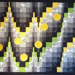 Löwenzahn 2012  ca. 80 x 120 cm                                   verkauft