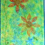 Les Fleurs 2015 ca. 45 x 75 cm                                                                                   195,- €