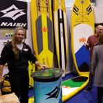 Naish mit seiner Produktpalette