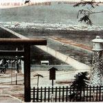 | вид от храма Карафуто-Дзиндзя на город (запад)