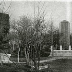 1934 |  Труба русского крейсера Новик Передана в храм министром военно-морского флота Японии Nouwikku Kemuri (северо-восток)