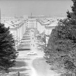 1967-1970 | вид на район Черёмушки (запад)