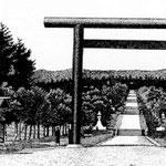 | дорога к храму Карафуто-Дзиндзя (восток)