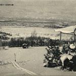 1920-1925 | Вид на город Тойохара от Карафуто дзиндзя (запад)