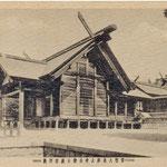 1920 | Главная святыня провинции (Kannusa тайся Сахалин ваш главный храм среднем зал богослужения (сев-восток)