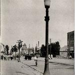 1935-1940 | Вид на улицу Оодори от почтамта г. Тойохара