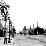 1935-1940 | Вид на улицу Оодори (север)
