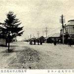 1910-1920 Первая почта города Тойохара(на юго-запад)