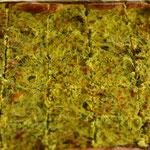 lauwarmer Zucchetti-Käsekuchen