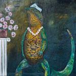 """Gould's Tsarina, 18"""" x 24"""", acrylic on canvas, 2013"""