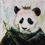 """Royal Dinner, 40"""" x 40"""", acrylic on canvas, 2014"""