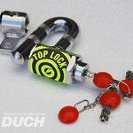 Antirrobo para moto sujeto al disco de Freno Pitón Duch Top-lock