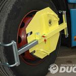 Cepo Duch IRP para camión (Bloqueador exterior plegable para rueda de camión)