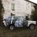 abandoned Range Rover - 2018