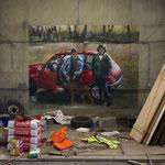 abandoned garage - 2018
