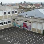 Atelier graffiti au collège Georges Sand de Châtellerault