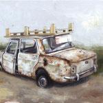 La Palette 27x35cm - oil on canvas  - 2019