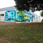 Atelier fresque pour le Self // EREA , Angoulême