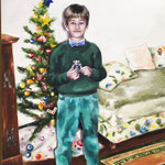 Noël - 100x80cm -  oil on canvas  - 2019