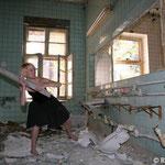 Dieses Foto ist gestellt, es wurde nichts zerstört. ;-)