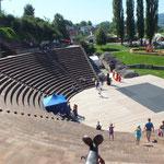 2015 Römerfest Augusta Raurica ... und hier spielt die Musik
