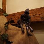 2018 Meduna Auftakt  ....und auf ein Schwätzchen mit dem berühmten Ritter Kunibert...