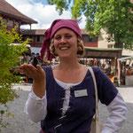 September 2021 Lenzburg ...bei Livia der Orga-Frau vom Markt...
