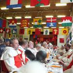 Anno 15.11.1315 An der 700Jahr Schlacht am Morgarten Gedenkfeier 2015  die Ehrengäste
