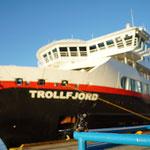 2017 Oktober unterwergs mit der MS-Trollfjord auf Hurtigruten