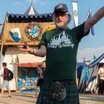 2018 Highlandgames Fehraltorf ...bei einem Ur-Highlander, em Scherzi..