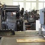 Drucksaal mit Heidelberger Druckmaschinen (1948 - 1984)