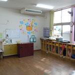 幼児室棟内