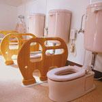 乳児室棟のトイレ