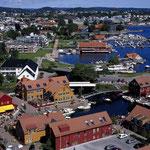 Fiskebrygge und Otterdalspark