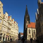 Prinzipalmarkt und Lambertikirche