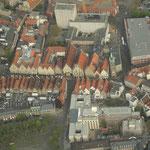 Blick auf Rathaus und Prinzipalmarkt