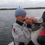 Segeln macht durstig...nicht nur die Erwachsenen!