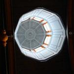Le lanternon de la chapelle vu de l'intérieur
