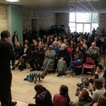 Une assemblée nombreuse (140 adultes, et sans compter les enfants !)