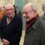 P. Claude Lemonnier (à droite), l'Ancien