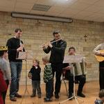 Le groupe de musiciens qui animera le bal folk à la Providence le 15 février prochain