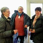 Une fine équipe : Annick Le Brun, Cécile Charbonnel et Rose-May