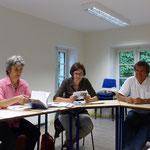 Emmanuelle Lecointre, Katrin Nicosia, Dominique Lemonnier